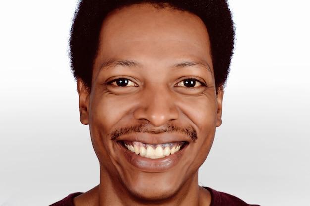 Portret afro amerykanina