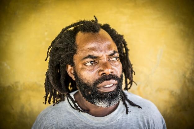 Portret afrykańskiego mężczyzny