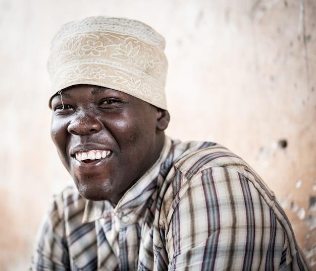 Portret afrykańskiego nastolatka