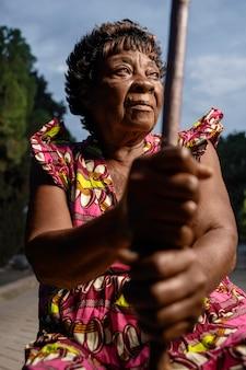 Portret afrykańskiej kobiety