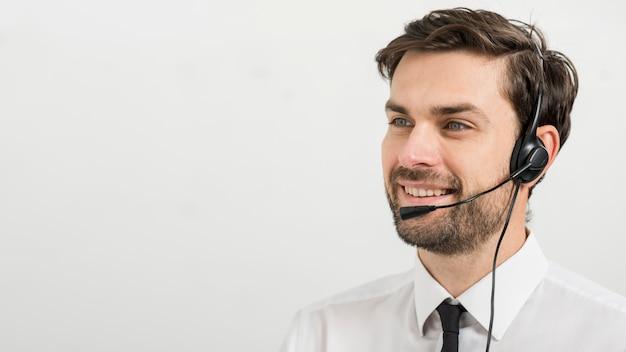 Portret agenta call center