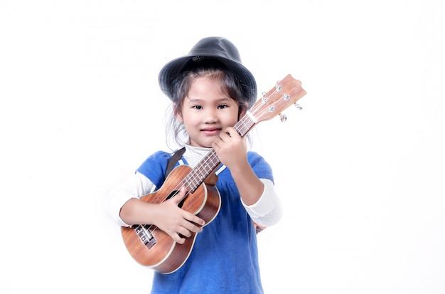 Portret azjatykcia mała dziewczynka