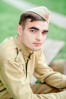 Portret dodatkowy, wojna, wojsko w mundurze, służba wojskowa