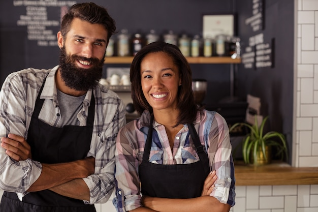 Portret dwóch kelnerów