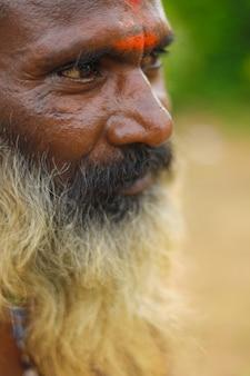 Portret indyjskiego sadhu