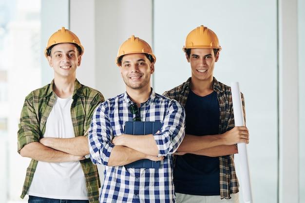 Portret inżynierów zawodowych