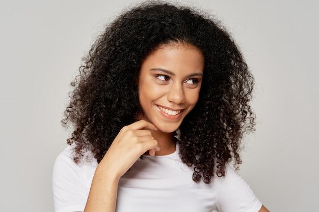 Portret kobiety afroamerykanów