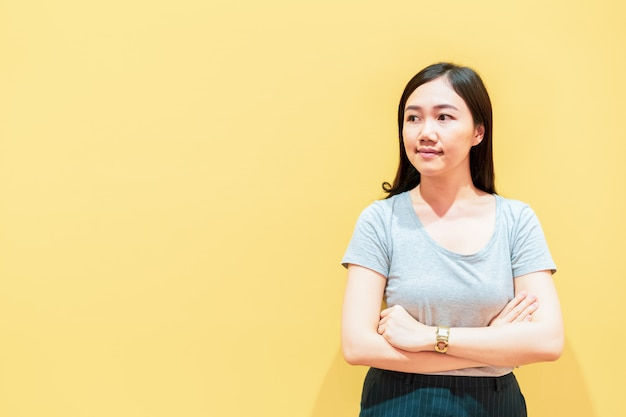 Portret kobiety azji