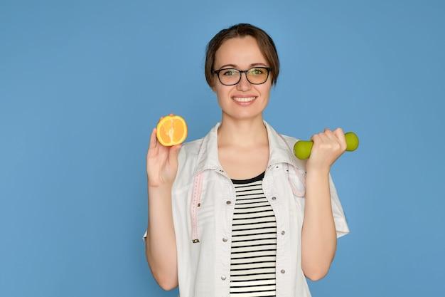 Portret kobiety dietetyk