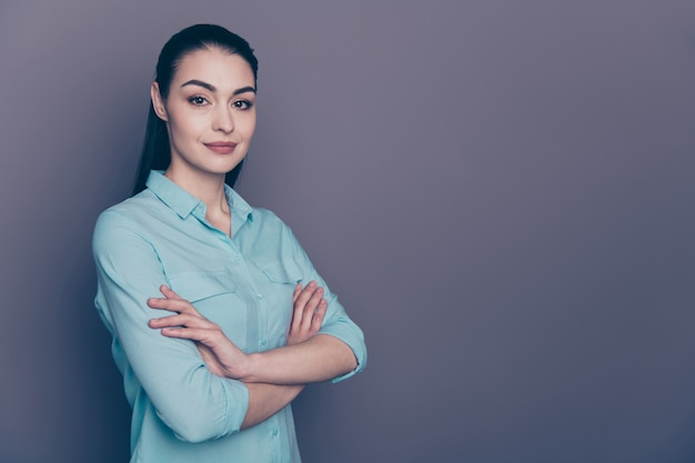 Portret kobiety młody biznes