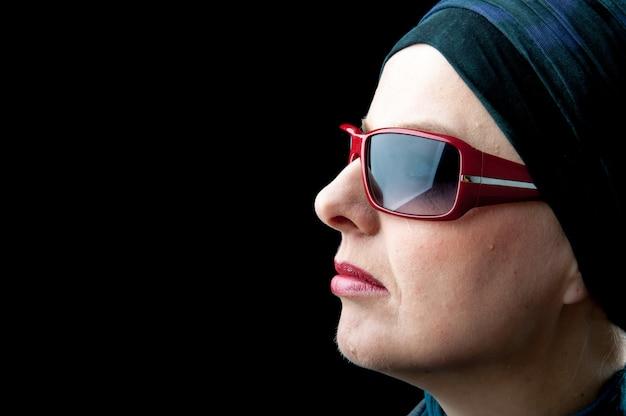 Portret kobiety muzułmańskiej