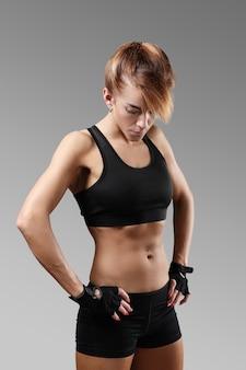Portret kobiety sportu