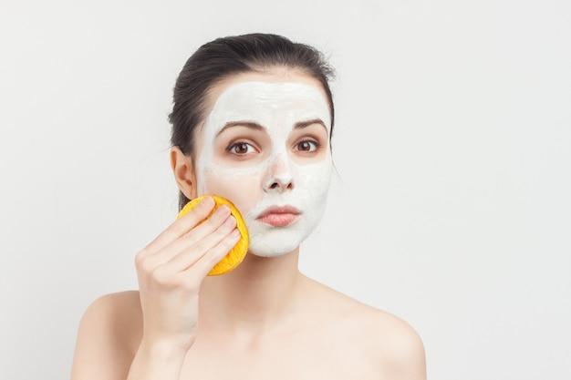Portret kobiety w masce