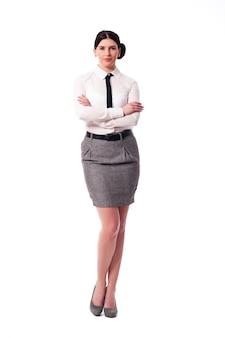 Portret ładny bizneswoman
