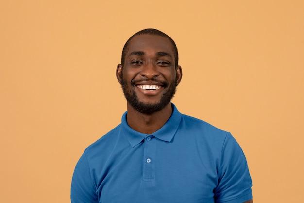 Portret mężczyzny afroamerykańskiego