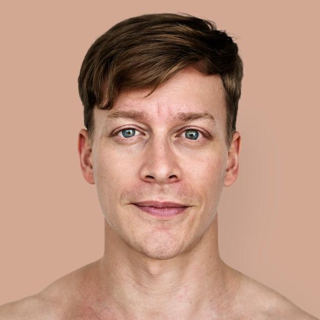 Portret mężczyzny z austrii