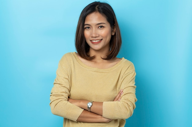 Portret młodej kobiety azjatyckie