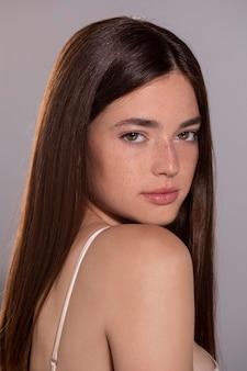 Portret młodej modelki