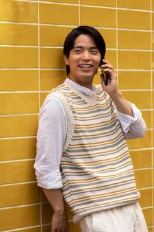 Portret młodej osoby azjatyckiej