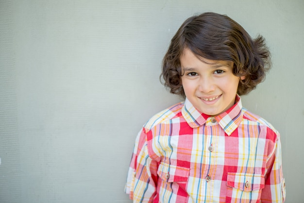 Portret model chłopiec