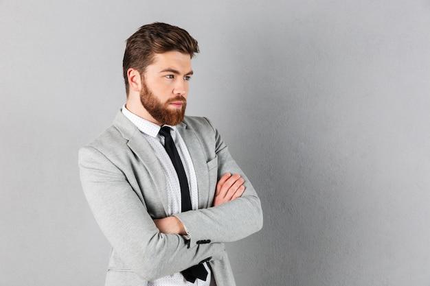 Portret pewność biznesmen