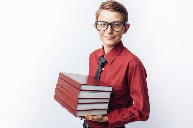 Portret pozytywny i emocjonalny uczniowski mienie rezerwuje