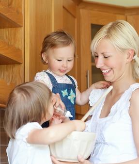 Portret rodzinny kucharstwo