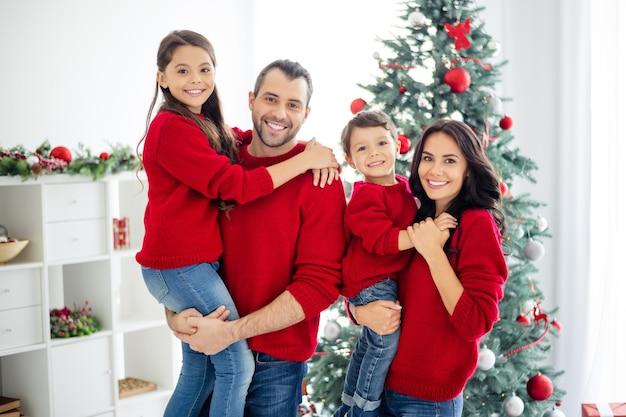 Portret rodzinny na boże narodzenie