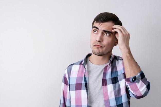 Portret rozważnego młodego człowieka
