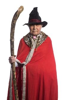 Portret starego czarownika