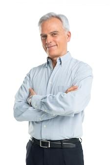 Portret starszy mężczyzna