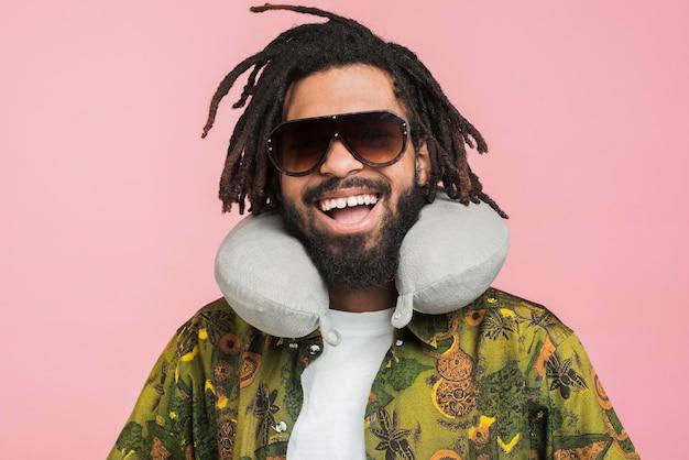 Portret szczęśliwego człowieka