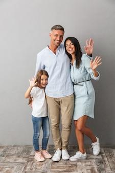 Portret szczęśliwej rodziny