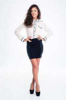 Portret szczęśliwy bizneswoman