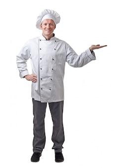 Portret szefa kuchni