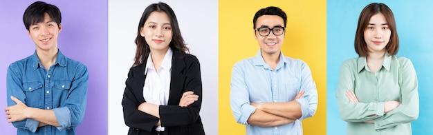 Portrety młodych ludzi biznesu