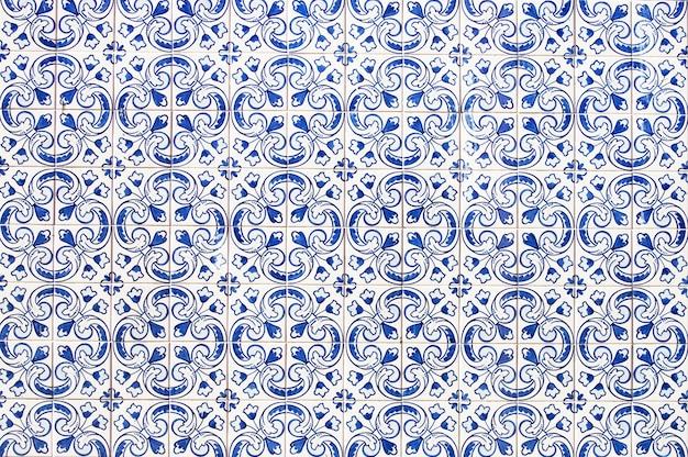 Portugalska ściana domu płytki