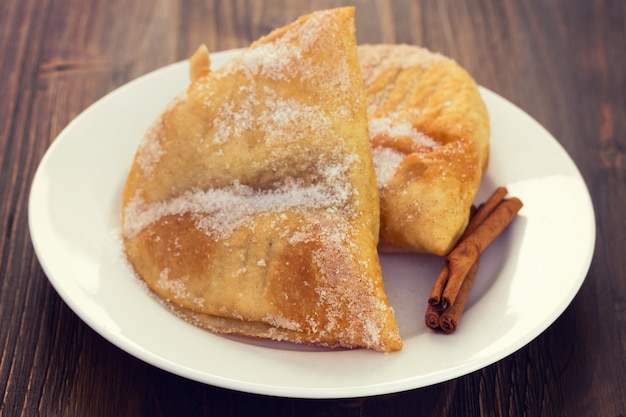 Portugalskie ciasteczka azevias de grao