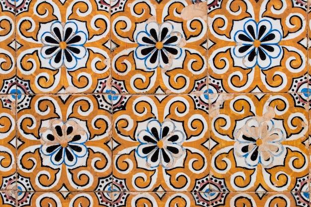 Portugalskie kafelki azulejo