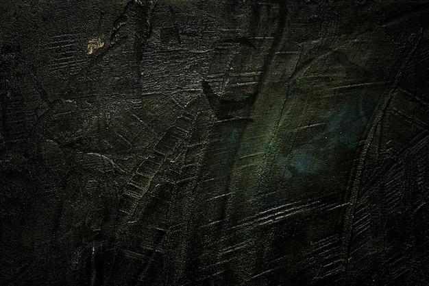 Porysowana czarna drewniana tekstury kopii przestrzeń
