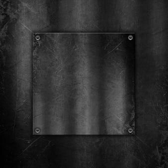 Porysowany metaliczny tło