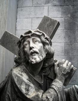 Posąg jezusa chrystusa