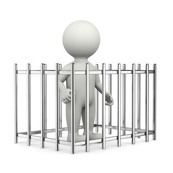 Postać 3d więźnia