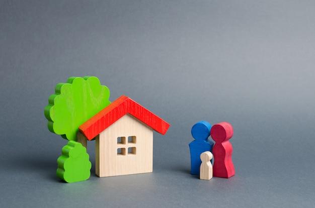 Postacie rodziny i domu