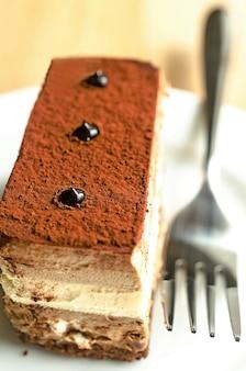 Potrójne ciasto z musem czekoladowym
