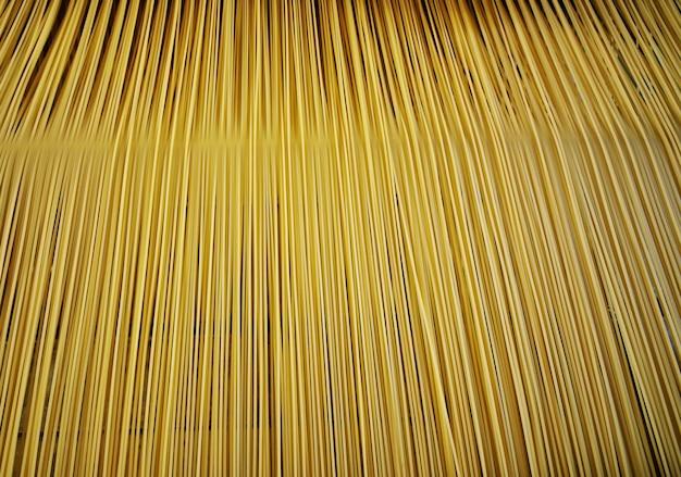 Powierzchnia lub tekstura makaronu i spaghetti z bliska.