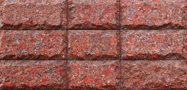 Powierzchnia lub tekstura płytek granitowych
