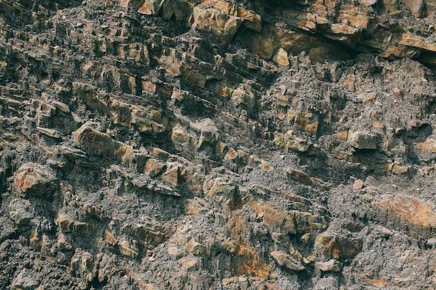 Powierzchnia marmuru z brązowym odcieniem tekstura kamieni i tło tekstura skały