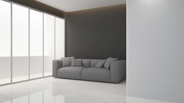Powierzchnia mieszkalna i balkon w apartamencie lub hotelu