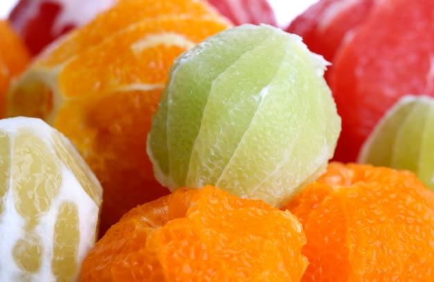 Powierzchnia owoców cytrusowych